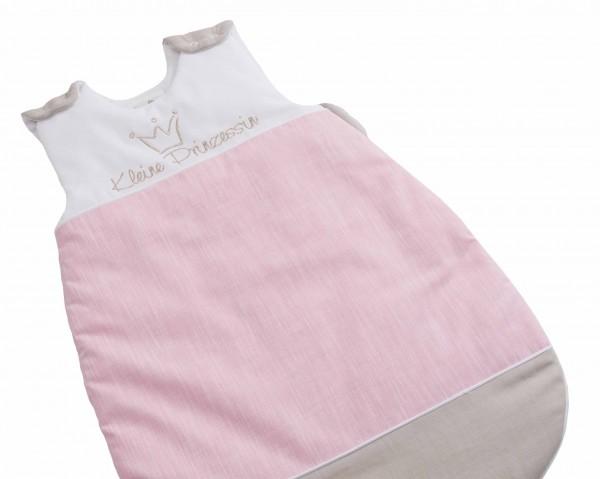 Kleine Prinzessin Sommer-Schlafsack 90 cm