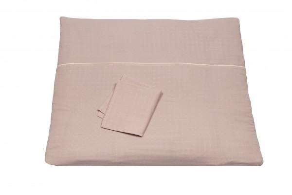 Pünktchen Bettwäsche 80 x 80 rosa