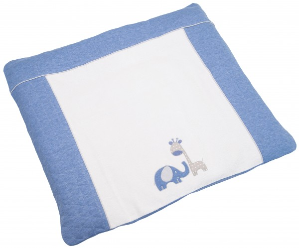 Max & Mila Bezug für Kunststoffwickelunterlage 85x75 blau