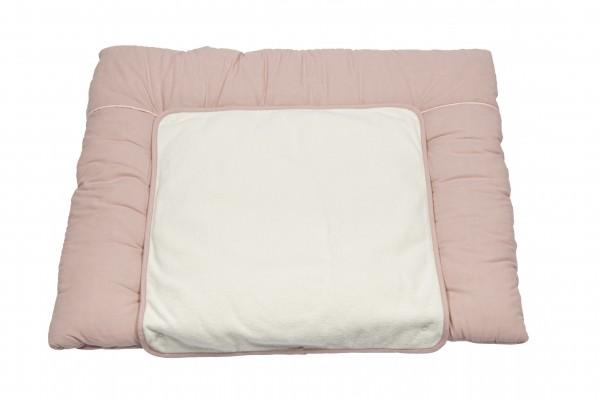 Pünktchen Wickelunterlage ca 85 x 70 cm rosa