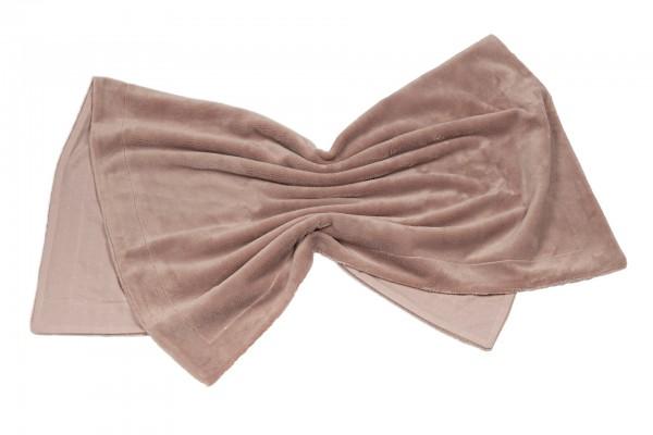 Pünktchen Kuscheldecke 75 x 100 cm rosa