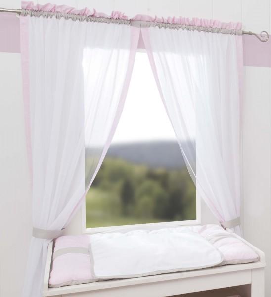 Kleine Prinzessin Vorhang, 2 Schlaufenschals je 100x150
