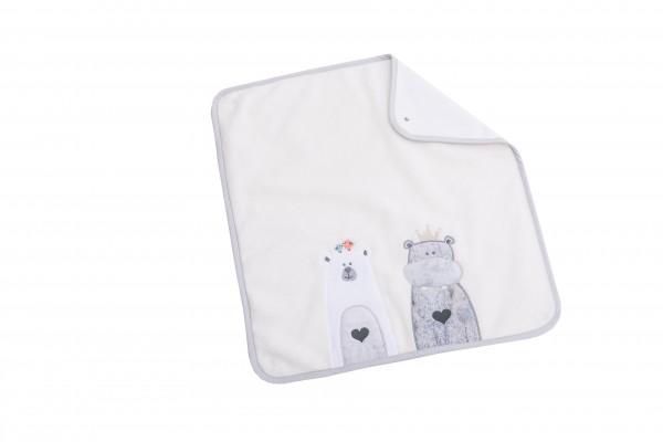 Odi & Bodi Ersatz-Frotteeauflage groß, mit Stickerei